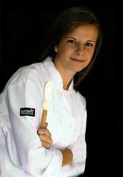 Culinary Alumna Recognized by Tech Prep