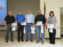 WCCC Thanks Business Advisors with OSBA Award