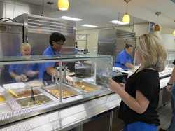 Our New Cafeteria Kitchen is Open for Breakfast and Lunch