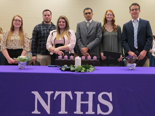 87 Inducted into NTHS