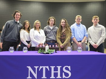 71 Inducted into NTHS