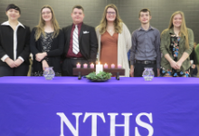 63 Inducted into NTHS