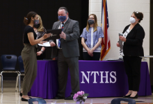 65 Inducted Into NTHS