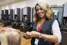 Cosmetology Student Follows Her Dreams