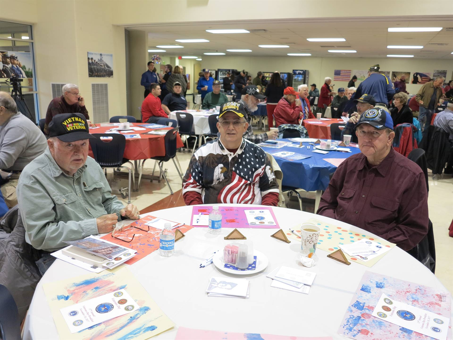 Attendees at the WCCC Veterans Day Breakfast