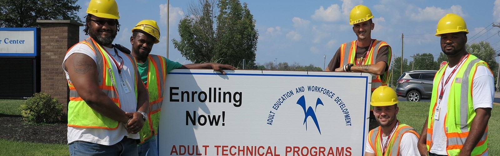 Now enrolling for Adult Technical Programs