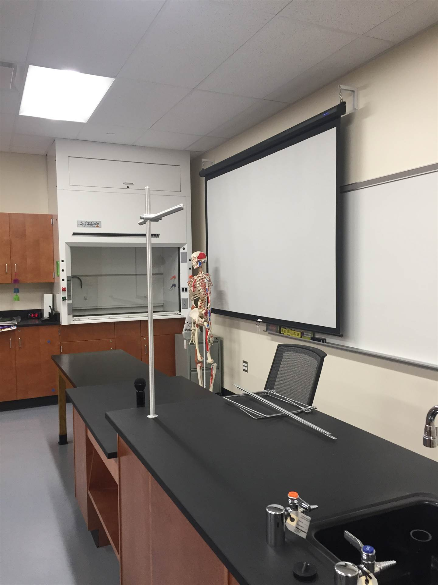 Completed Science Lab