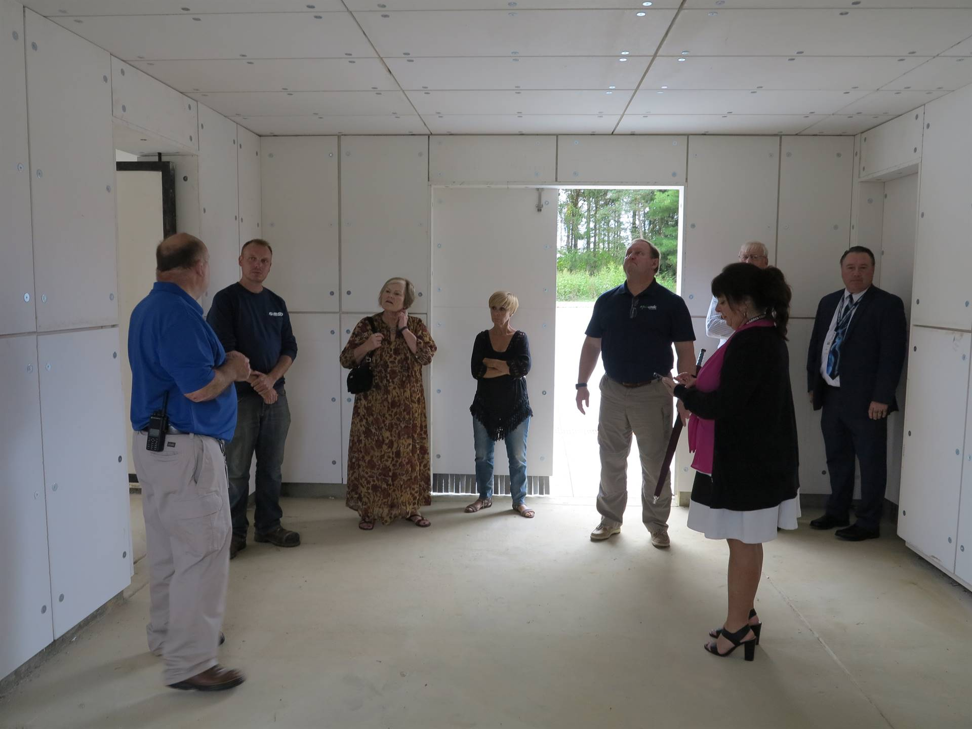 WCCC Facilities Committee tours new construction areas