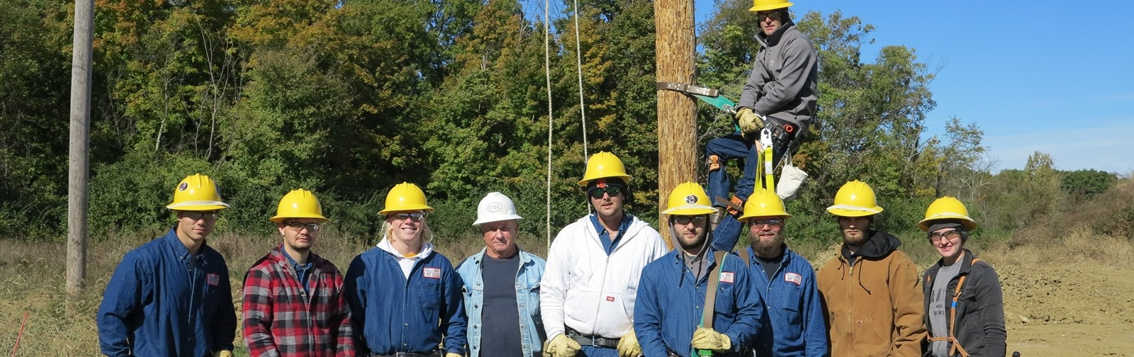 Electrical Power Line Mechanic class October 2018