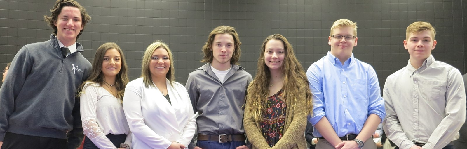 National Technical Honor Society officers