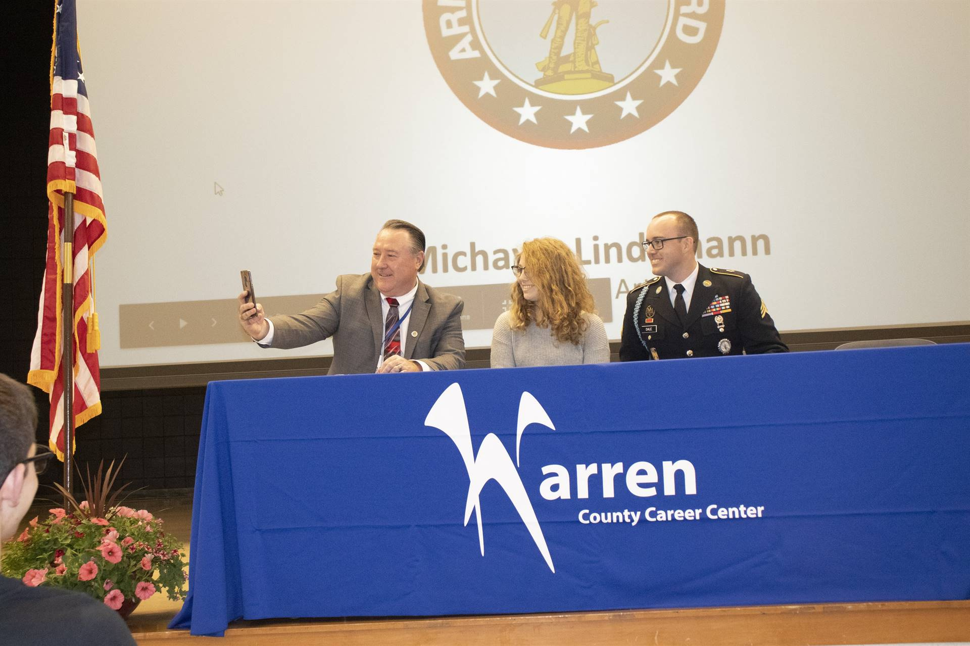 Military signing