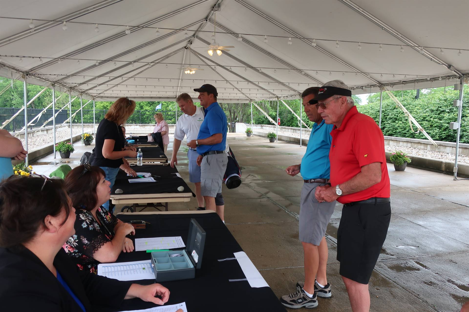 Golf outing registration