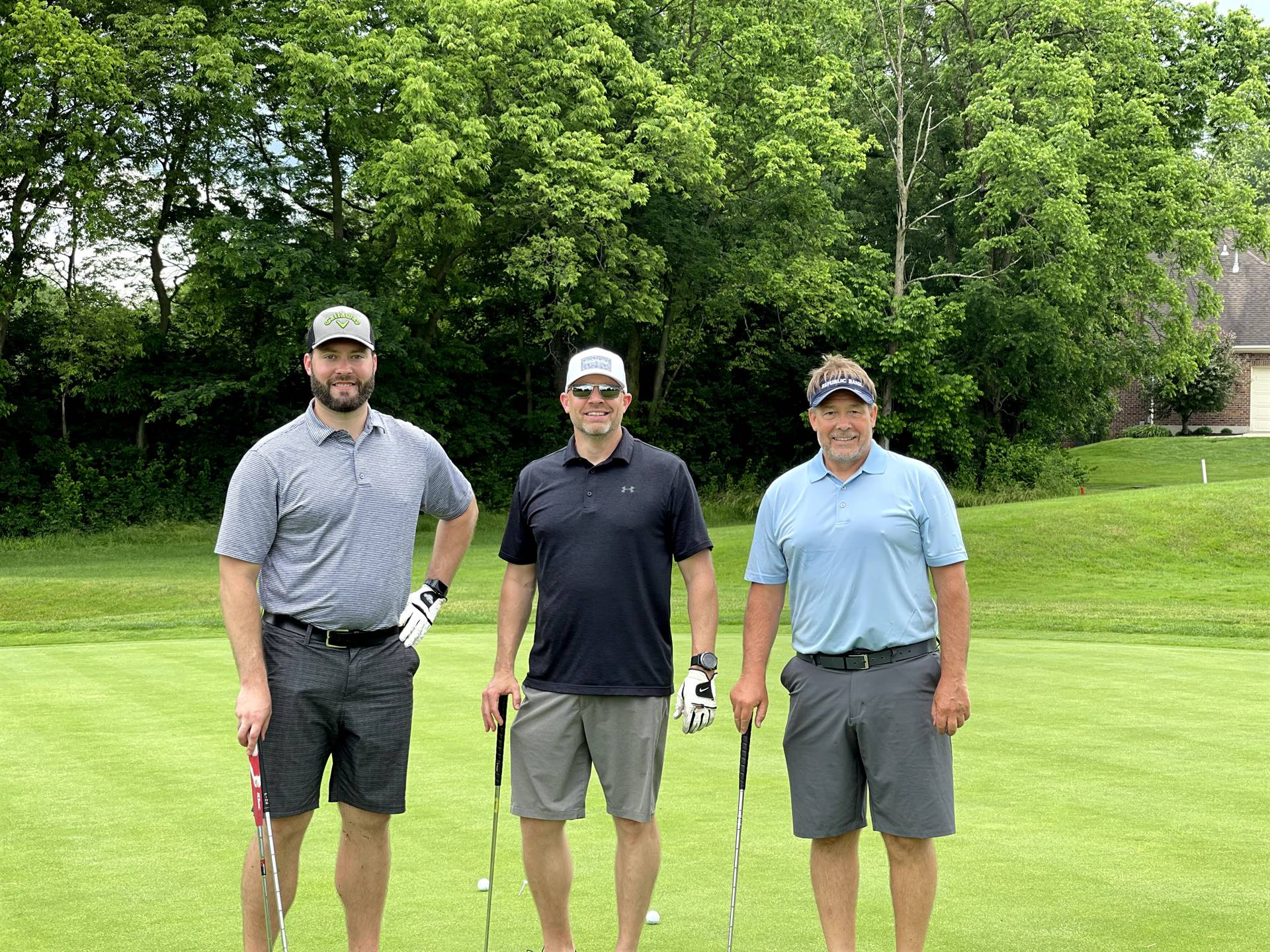 Golf outing team